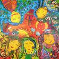 """Új Galéria - """"Álmok"""" - az Igazgyöngy Alapítvány és Művészeti Iskola kiállítása"""