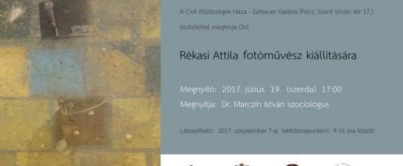 Rékasi Attila fotóművész kiállítása