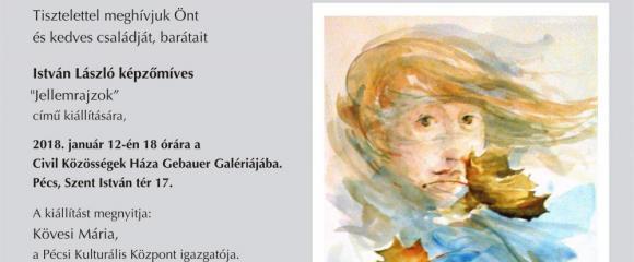 Gebauer Galéria - István László: Jellemrajzok