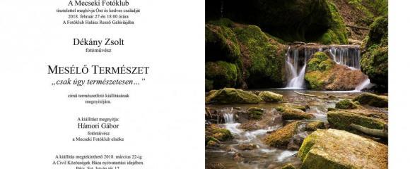 Mecseki Fotóklub - Dékány Zsolt kiállítása