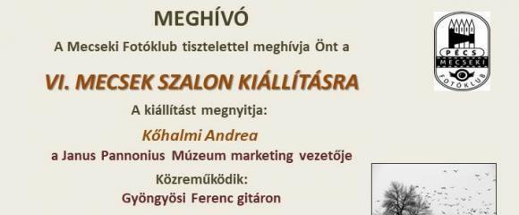 Mecseki Fotóklub- VI. Mecsek Szalon